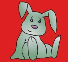 Green Bunny Rabbit One Piece - Short Sleeve