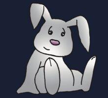 White Bunny Rabbit Kids Tee