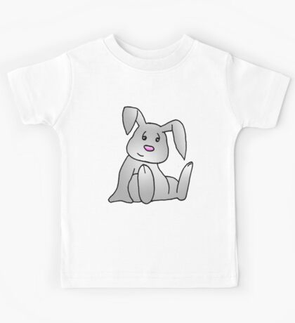 White Bunny Rabbit Kids Tee