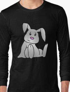 White Bunny Rabbit Long Sleeve T-Shirt