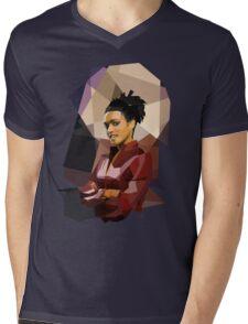 Martha fragged Mens V-Neck T-Shirt