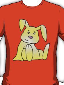 Yellow Bunny Rabbit T-Shirt