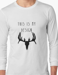 Hannibal - This Is My Design Long Sleeve T-Shirt