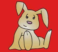 Brown Bunny Rabbit Kids Tee
