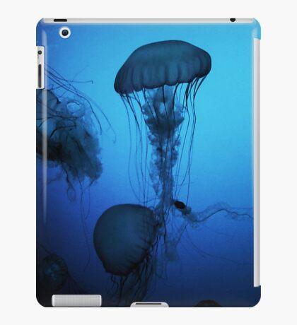 Portrait of a Jellyfish- Blue iPad Case/Skin