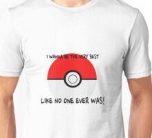Pokemon Ball Theme Song  Unisex T-Shirt