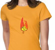 Hot Chick Womens Fitted T-Shirt