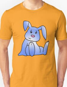 Blue Bunny Rabbit Unisex T-Shirt