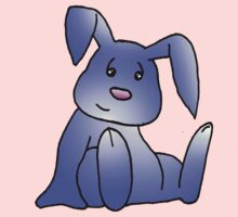 Lavender Bunny Rabbit Baby Tee
