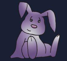 Magenta Bunny Rabbit Kids Tee