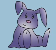Purple Bunny Rabbit Kids Clothes