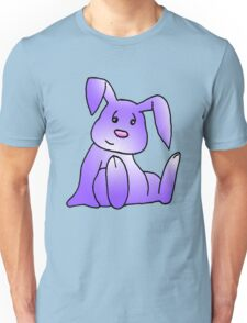 Purple Bunny Rabbit Unisex T-Shirt