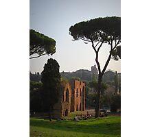 l'Acquedotta Claudio, Roma, Italia Photographic Print