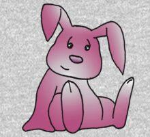 Pink Bunny Rabbit One Piece - Long Sleeve