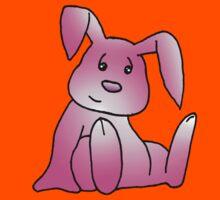 Pink Bunny Rabbit Kids Tee
