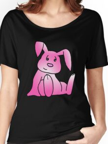 Pink Bunny Rabbit Women's Relaxed Fit T-Shirt