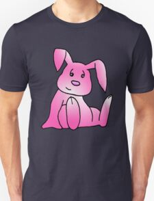 Pink Bunny Rabbit Unisex T-Shirt