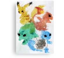 Starters Canvas Print