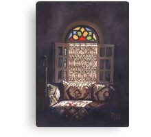 The Moroccan Window Canvas Print
