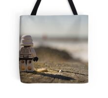 Plastic floats right? Tote Bag