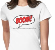 Cosplay BOOM! Womens Fitted T-Shirt