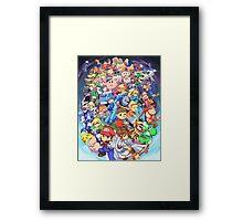 Super Smash Club of Nintendo Players  Framed Print