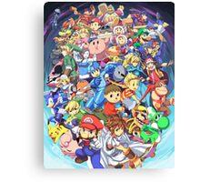 Super Smash Club of Nintendo Players  Canvas Print