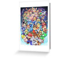 Super Smash Club of Nintendo Players  Greeting Card