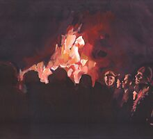 The Bonfire by Anthony Greentree