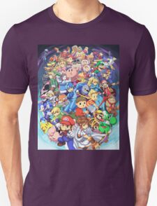 Super Smash Club of Nintendo Players  T-Shirt