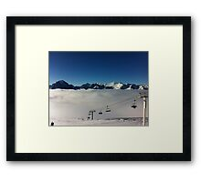 Canada, Rocky Mountains, Lake Louise Framed Print