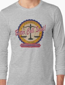 Breaking Bad Inspired - Better Call Saul - Albuquerque Attorney Parody Long Sleeve T-Shirt