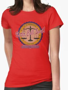 Breaking Bad Inspired - Better Call Saul - Albuquerque Attorney Parody Womens Fitted T-Shirt