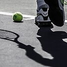Rafa's Shadow iPhone Case by nadalnews