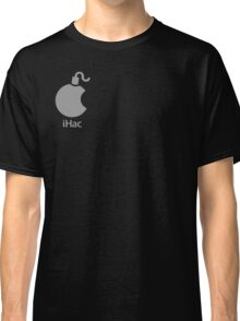 iHac(k) - White Artwork Classic T-Shirt