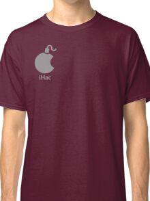 iHac(k) - White Artwork Classic T-Shirt
