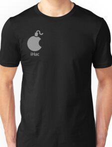 iHac(k) - White Artwork Unisex T-Shirt