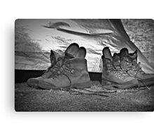 Boot Camp Canvas Print