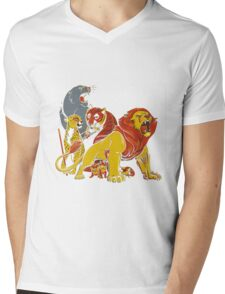 Real Thundercats Mens V-Neck T-Shirt