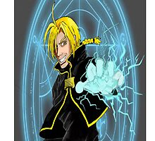 Edward Elric the Fullmetal Alchemist by Lucmix