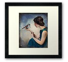 The Key to Wonderland Framed Print