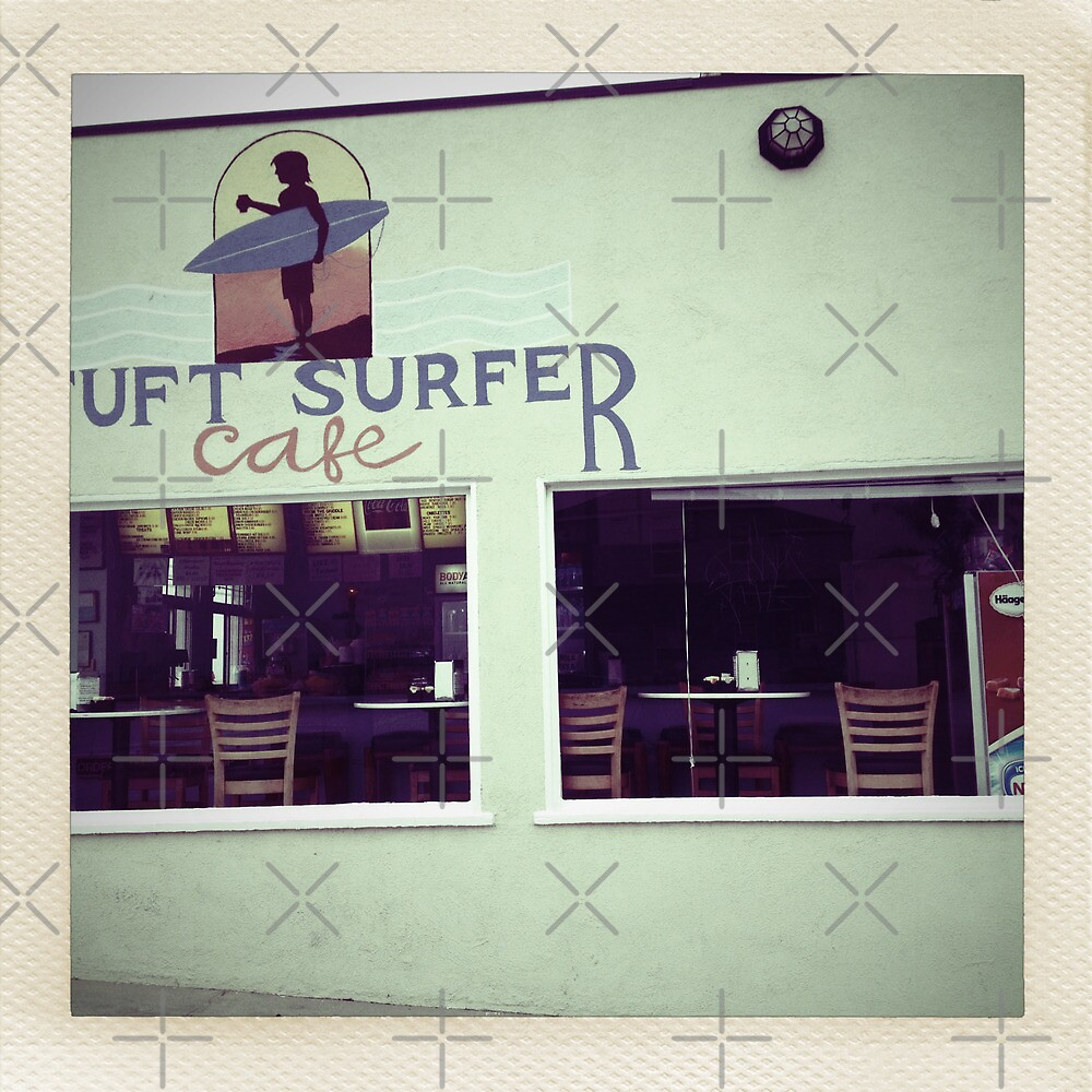 Postcards from Surfer Cafe by Amyn Nasser