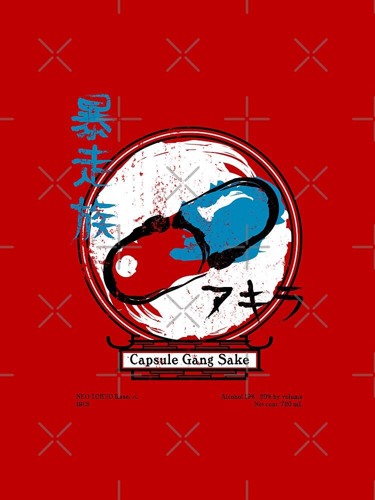 Capsule Gang Sake (Akira) by huckblade