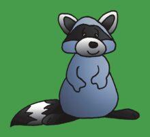Blue Raccoon Kids Tee