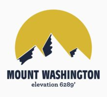 Mount Washington Sticker by msbpackengineer