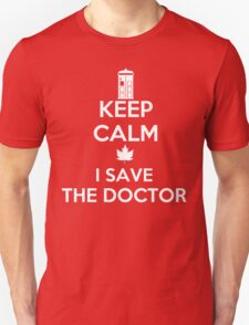 I save the Doctor T-Shirt
