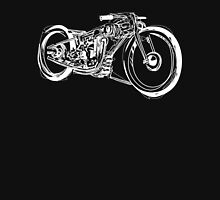 Motorcycle Line Drawing Unisex T-Shirt