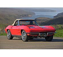 1963 Chevrolet Corvette Photographic Print
