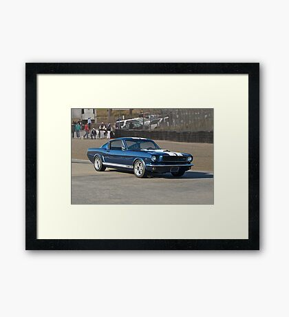 1965 Ford Mustang GT350 Framed Print