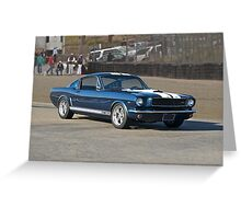 1965 Ford Mustang GT350 Greeting Card